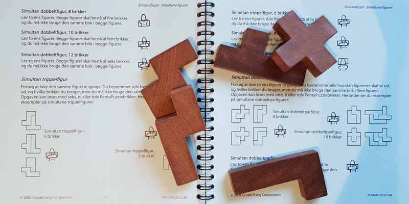 PENTAPUZZLE booklet