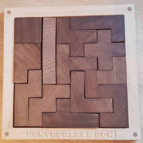 PENTAPUZZLE wood