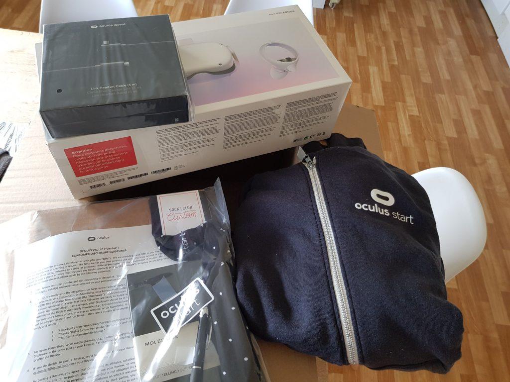 Oculus Start Program Package
