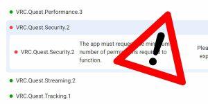 Oculus App Store Error